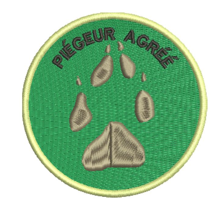 PIEGEUR AGRÉÉ FOND VERT